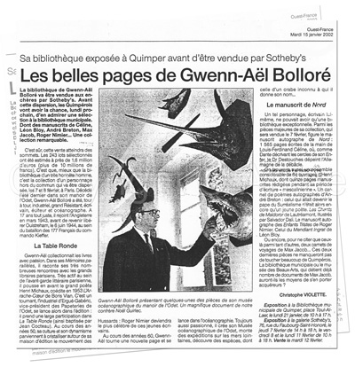 Arkae > Tresors archives > Personnages > Gwenn-Ael Bolloré > Article OF
